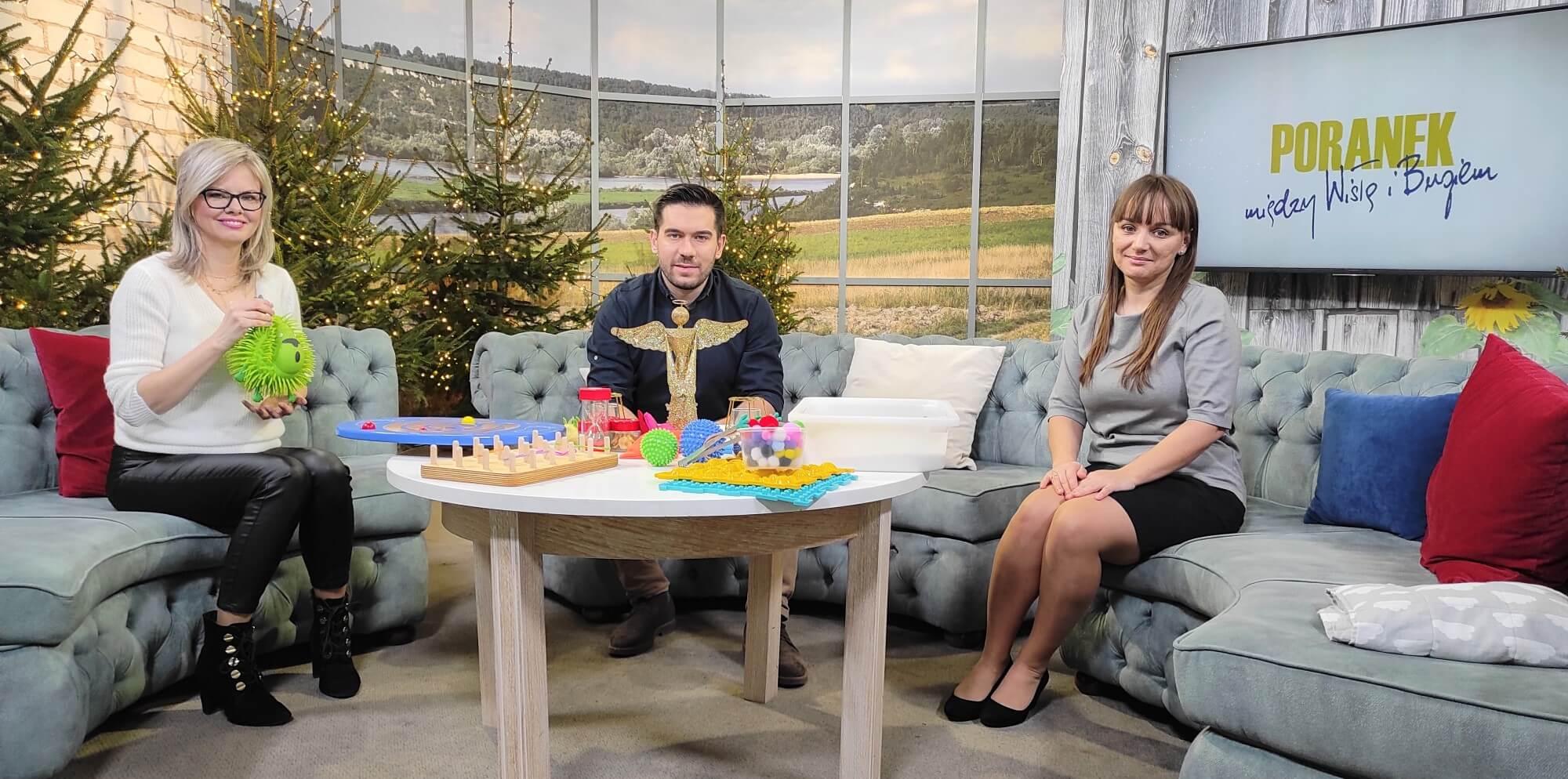 Aleksandra Kawa w programie w TVP 3 Lublin