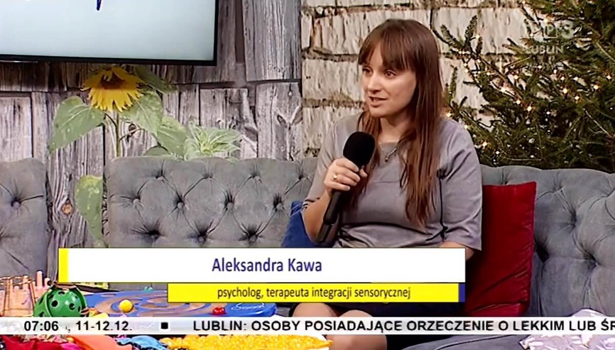 Aleksandra Kawa, psycholog, terapeuta integracji sensoryczej