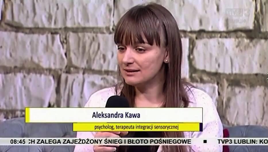 Aleksandra Kawa, psycholog, diagnoza integracji sensoryczej Lublin